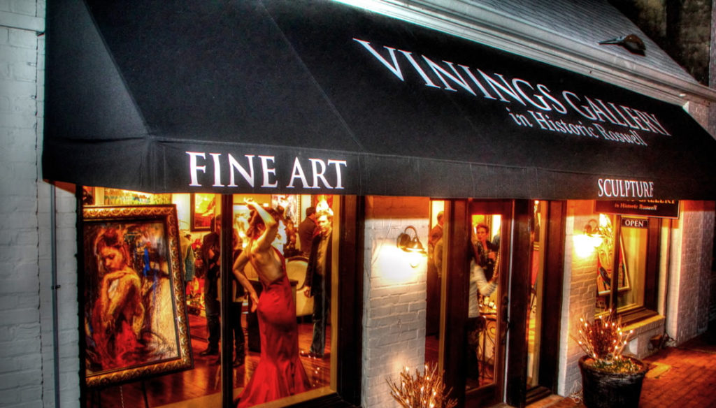 Vinings Gallery in Historic Roswell